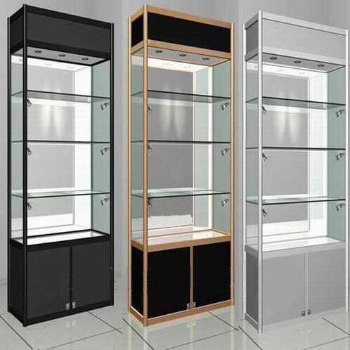 chine magnifique armoire en verre pour