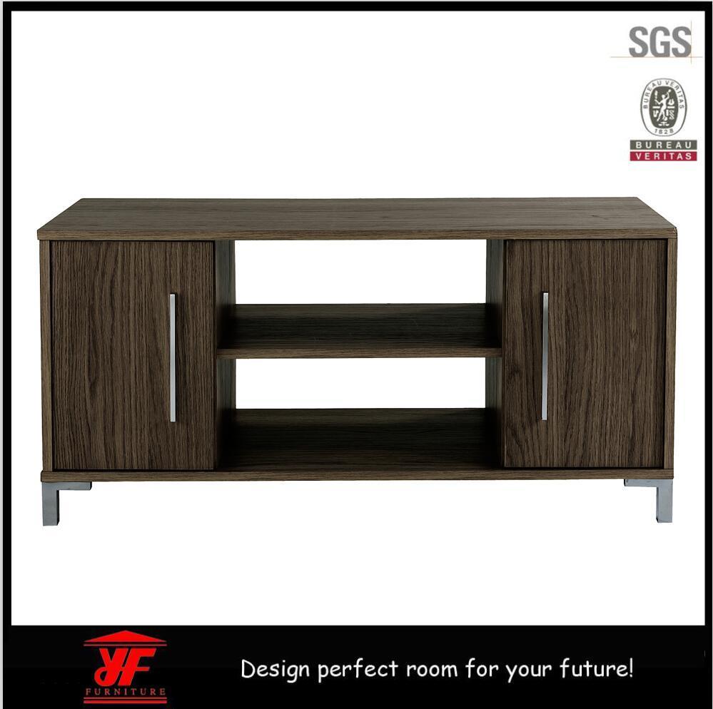 bois meubles tv meuble tv avec vitrine