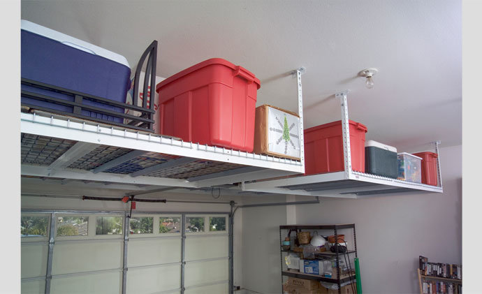 stockage et de plafond suspendu garage