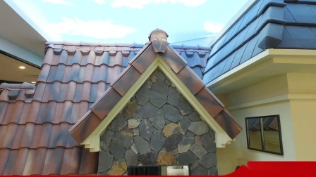 china lowes red concrete red clay roof