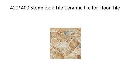 anti slip stone look ceramic floor tile