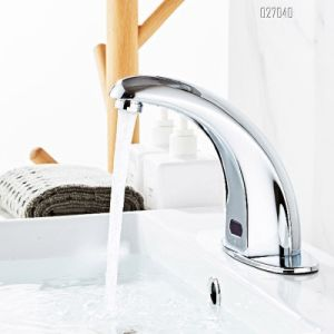 commercial automatic tap sensor electric water mixer touchless deck mount bathroom sink faucet hands free