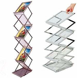 china a4 aluminium catalogue stand