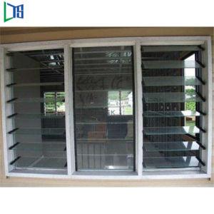 china tempered glass jalousie windows