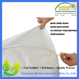Bamboo Jersey Waterproof Mattress Encasing Style Protector