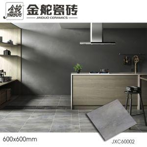 600x600mm non slip light gray rustic ceramic bathroom floor tile