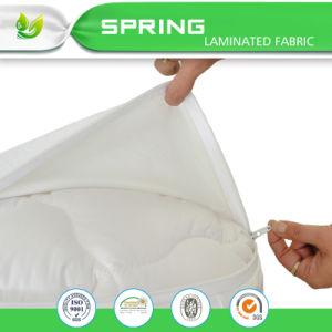 Zippered Bed Bug Proof Queen Size Mattress Cover Waterproof