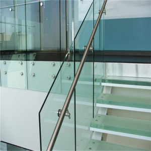 China 12Mm Thick Tempered Glass Panels For Stair Railing China | Tempered Glass Panels For Stairs | Metal | Glass Balustrade | Newel Post | Acrylic | Bannister