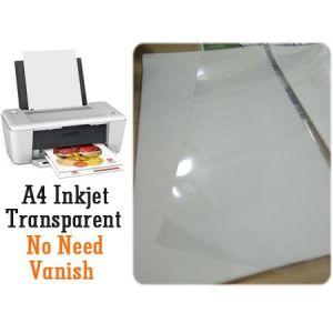 China Printable Transparent A4 Inkjet Water Slide Decal