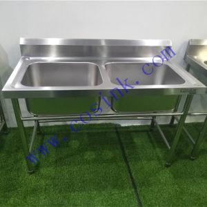 european high end custom zise commercial kitchen stainless steel sink