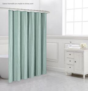 new design crinkled shower curtain