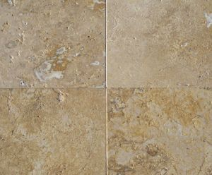 noce travertine marble floor tiles hbnt001