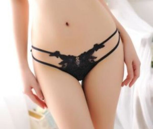 Japanese Girl Sexy Lashing Briefs Panty Low Waist Ultra Thin Breathable Stretch Temptation Embroidery See