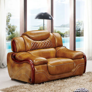 China Best Quality Living Room Home Furniture Leather Sofa A62 China Leather Sofa Home Furniture