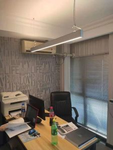 led linear light fitting