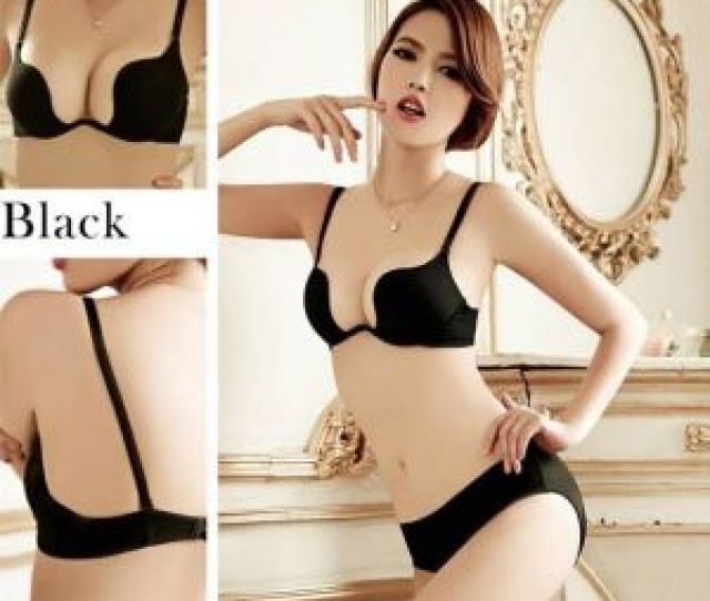 Hot Sale Seamless Gathering Cleavage Girl Sexy Beautiful And Bra Set Underwear