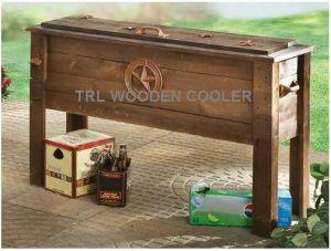 outdoor furniture wooden patio cooler