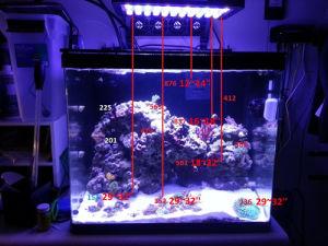 china 120w aquarium led lights led