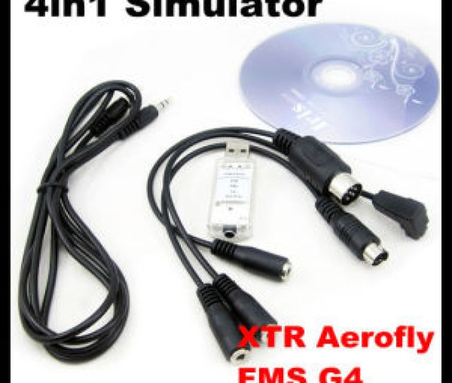 Fs Sm105 4in1 Usb Flight Simulator Cablextr Aerofly Fms G4