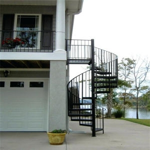 China Outdoor Spiral Stairs Kit Prices Wrought Iron Spiral | Outdoor Spiral Staircase Prices | Dipped Galvanized | Stair Treads | Furniture Ideas | Deck | Treads