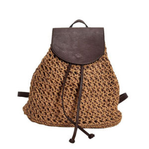 China 2017 New Fashion Straw Drawstring Ladies Bags Women Backpacks     2017 New Fashion Straw Drawstring Ladies Bags Women Backpacks