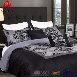 100 polyester draps de lit queen size ensembles de literie a bas prix pour une utilisation domestique