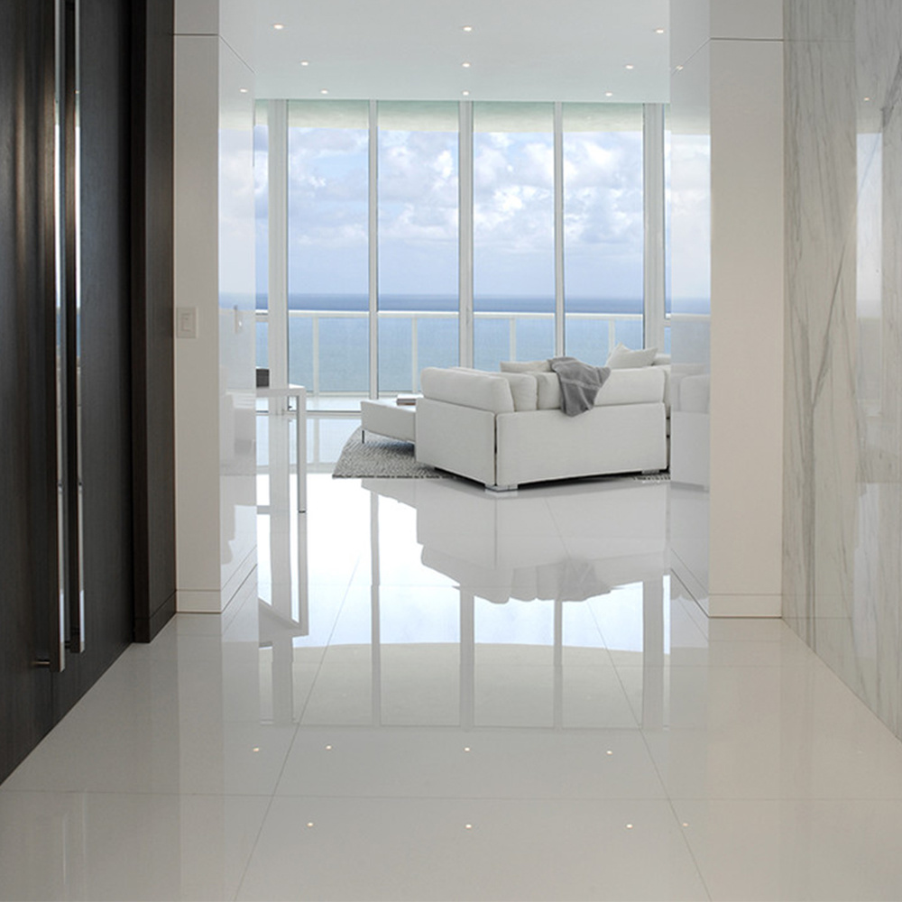 super white porcelain tile 24x24