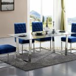 Luxury Home Interior Stainless Steel White Marble Top Dining Table Set China Dining Table Home Interior Made In China Com