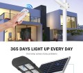 Automatic Integrated Panel System Outdoor Lithium Battery Pole Controller Solar Cell Street Light Led Lamp Lights Decoration Lighting Energy Sensor Light China Led Panel Light Portable Solar Camping Lamp Made In China Com