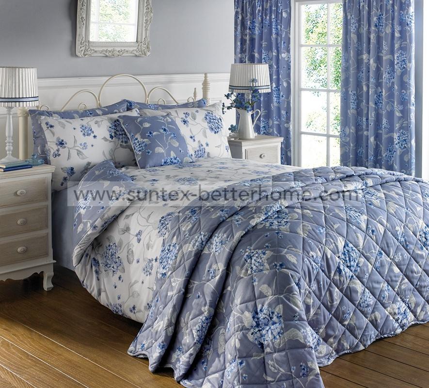 floral printed coverlet bedspread 7pcs
