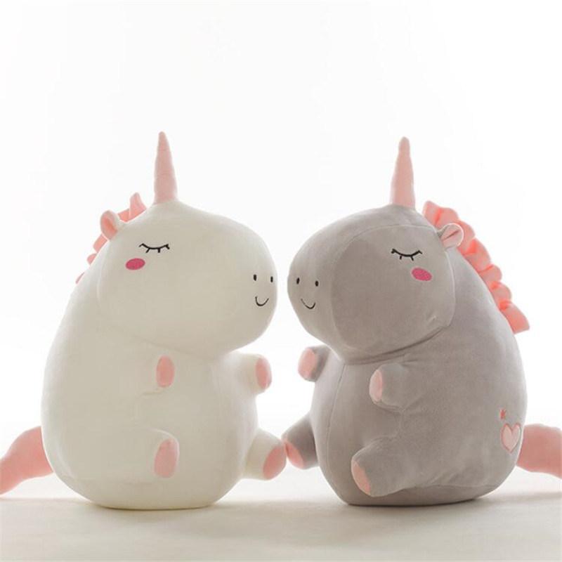 unicorn plush toy fat unicorn doll cute