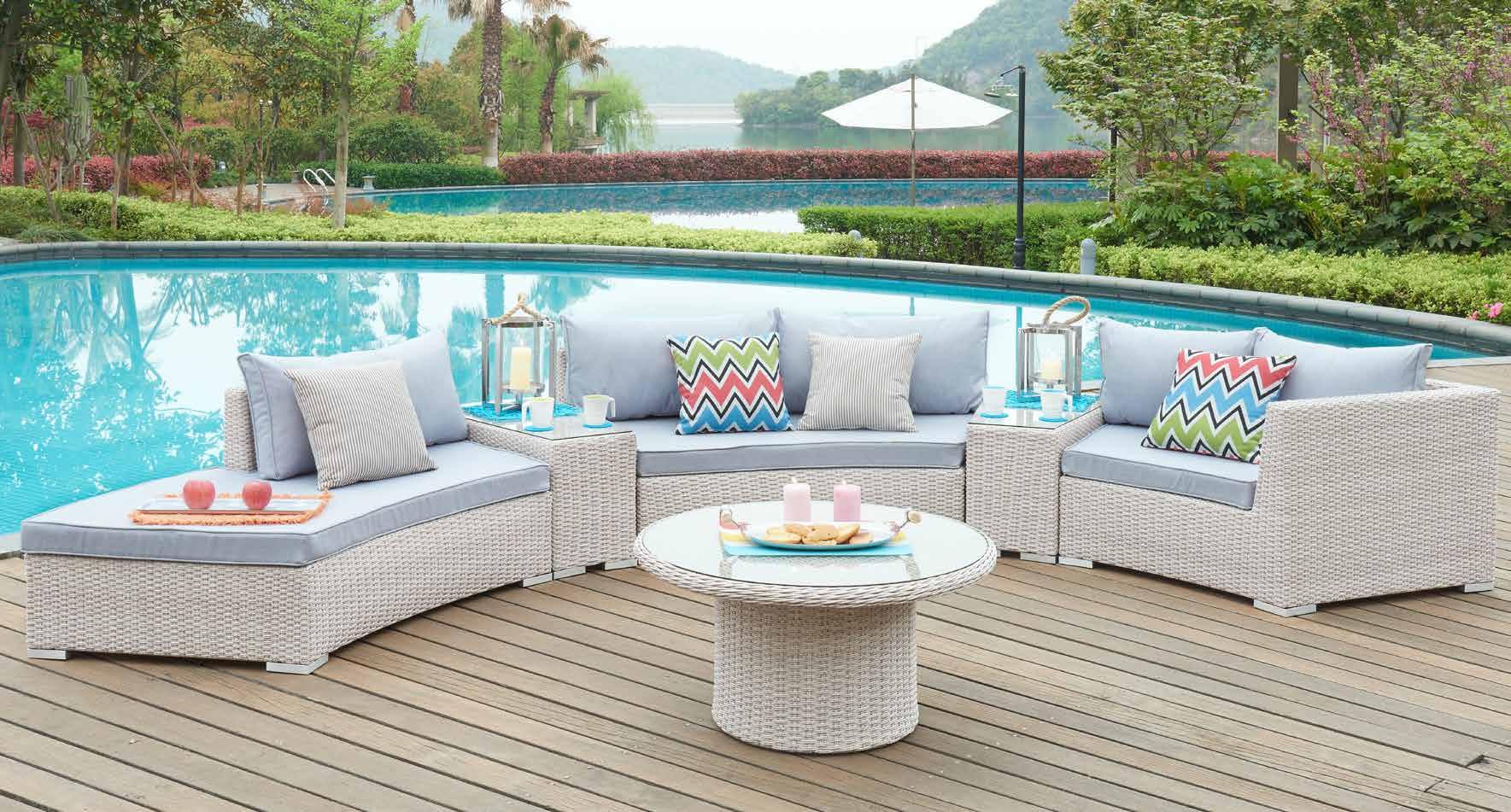 6 pieces patio dining sets outdoor