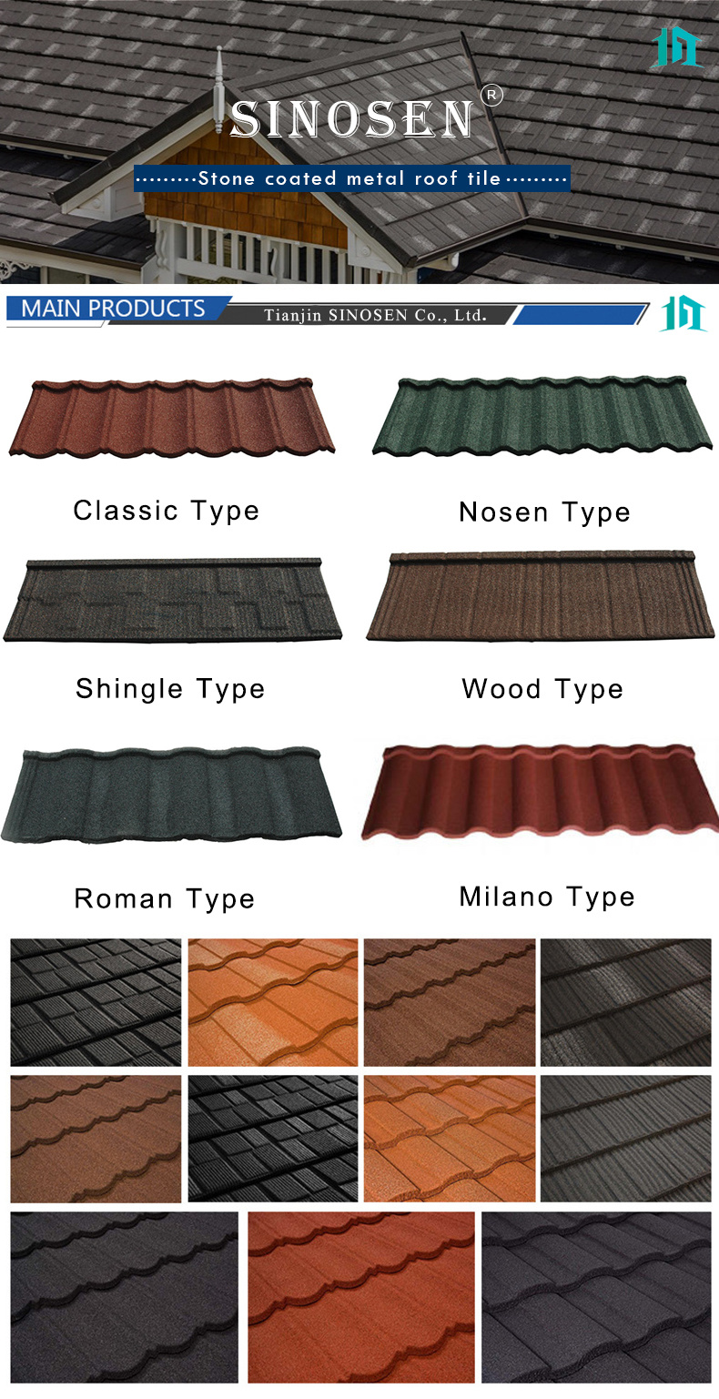 quality aluminum roofing tile