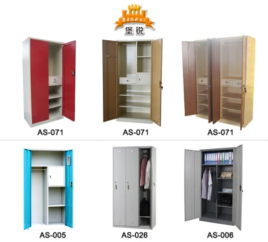 Jas 071 Hot Sale 2 Door Metal Storage Cabinet   Different Colour     It can be adjusted according to your needs