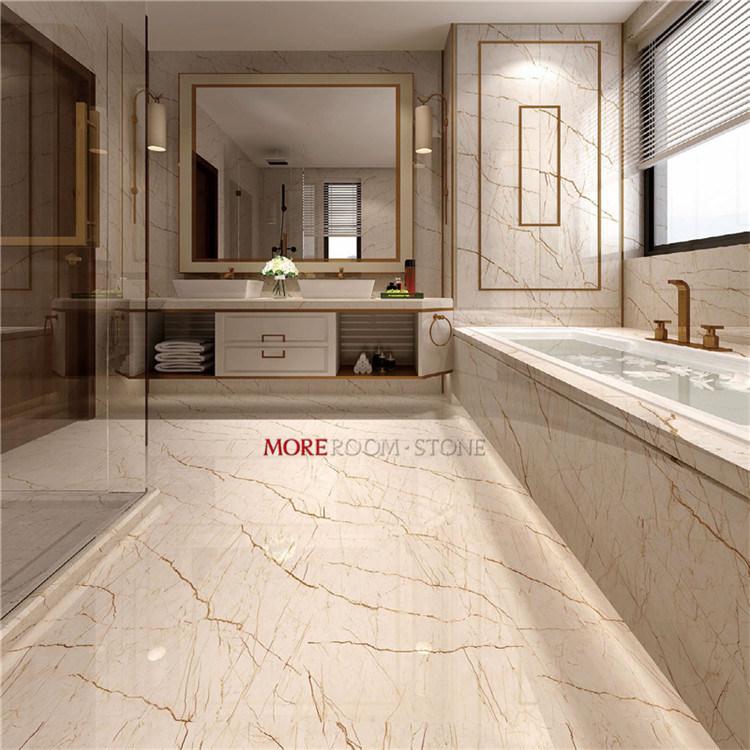 gold vein beige marble porcelain