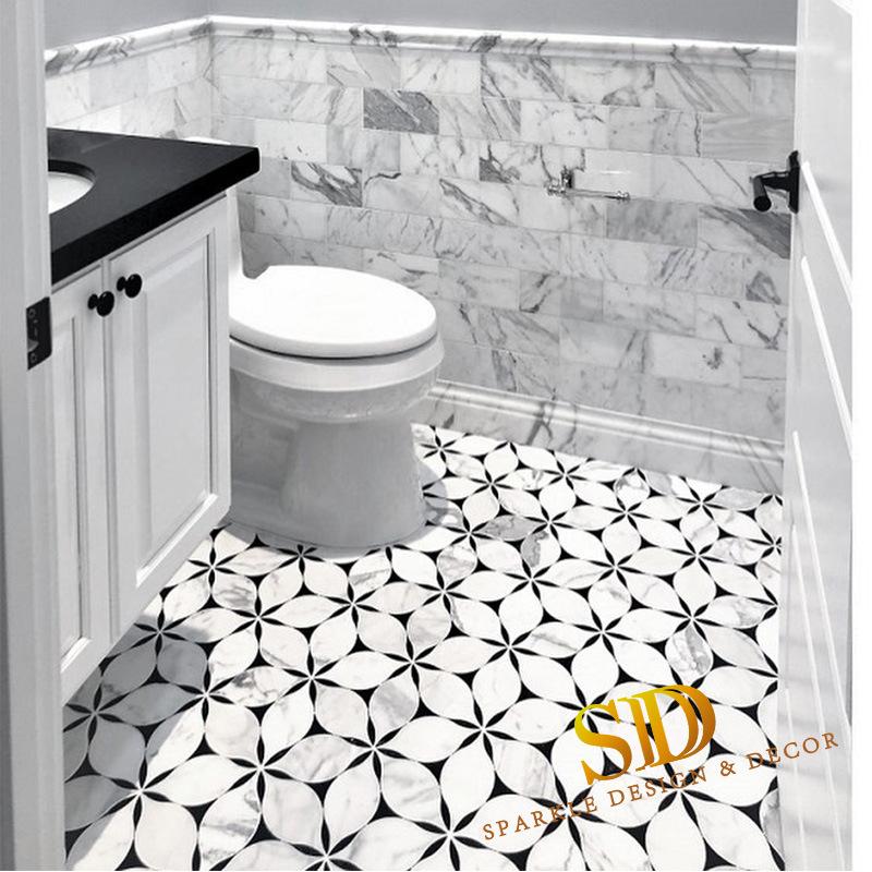 china marble mosaic tile bathroom