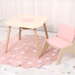 Wholesale Kids Wooden Table And Chair Newly Children Play Table Set China Kindergarten Table And Chair Modern Children Home Furniture Made In China Com