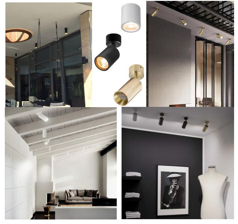 suspended led spotlight high efficiency