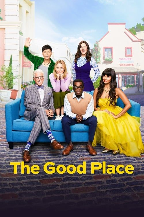 Key visual ofThe Good Place