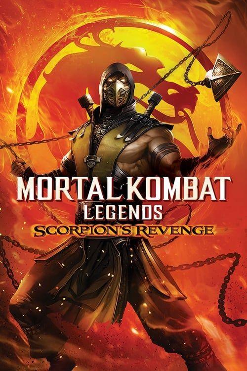 Key visual ofMortal Kombat Legends: Scorpion's Revenge