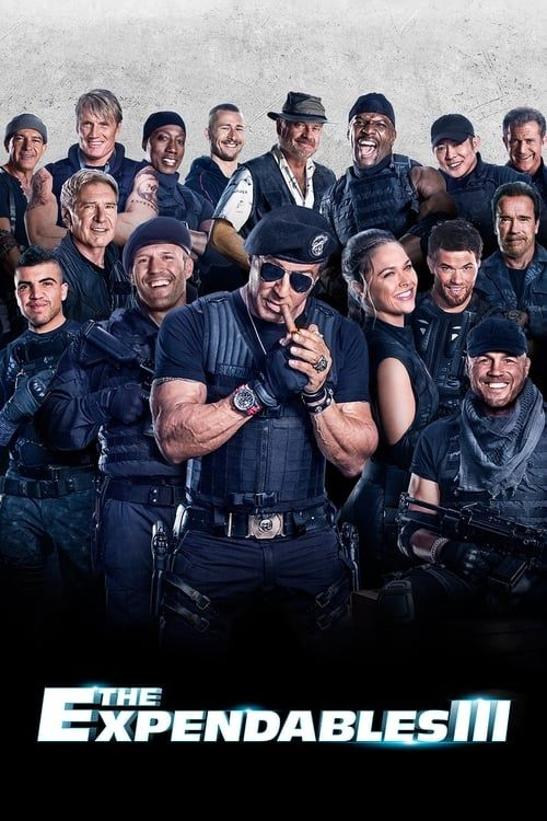 Key visual ofThe Expendables 3