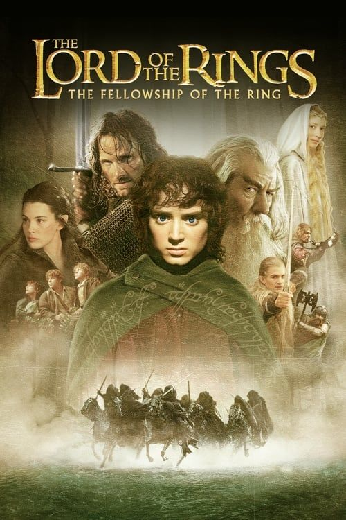 Key visual ofThe Lord of the Rings: The Fellowship of the Ring