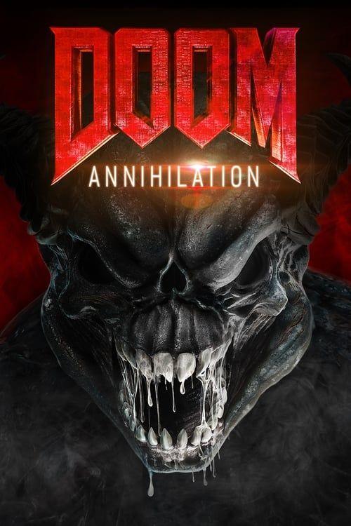 Key visual ofDoom: Annihilation