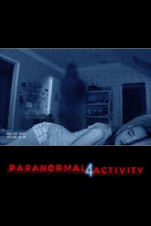 Key visual ofParanormal Activity 4