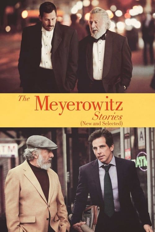 Key visual ofThe Meyerowitz Stories (New and Selected)
