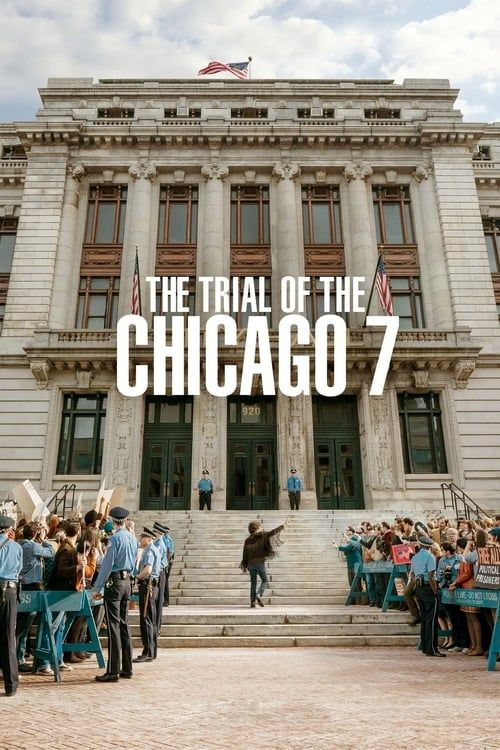 Key visual ofThe Trial of the Chicago 7