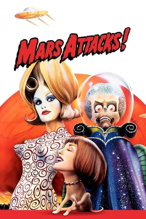 Key visual ofMars Attacks!