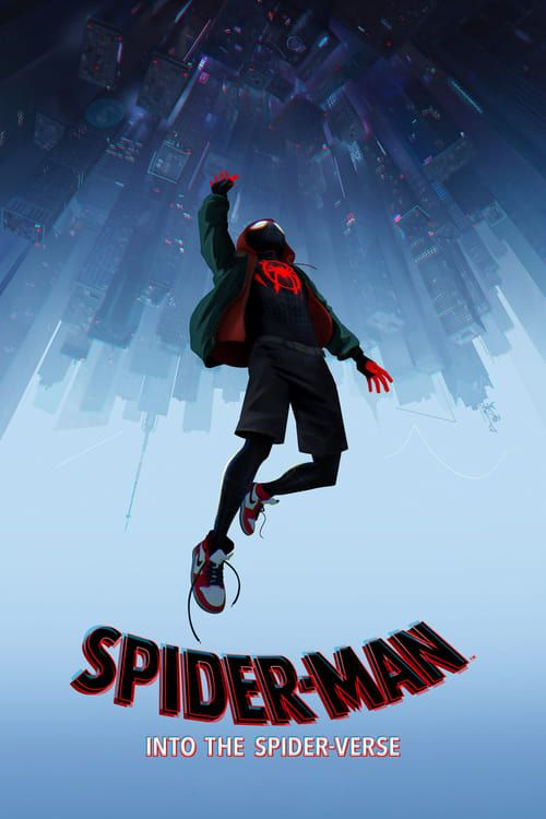 Key visual ofSpider-Man: Into the Spider-Verse