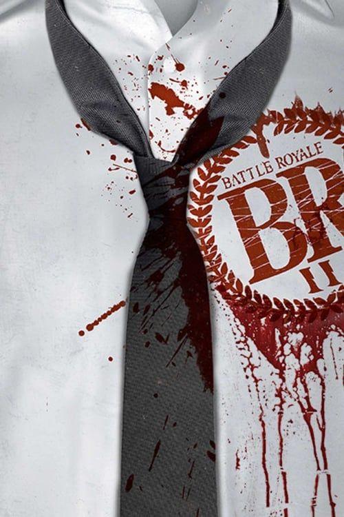 Key visual ofBattle Royale II: Requiem