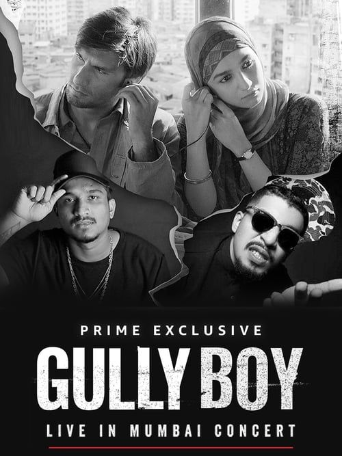 Key visual ofGully Boy: Live In Concert